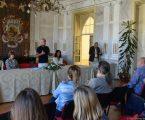 Évora: 20º Encontro Internacional de Arte Jovem – Receção nos Paços do Concelho e entrega de Certificados de Participação