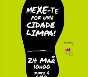 """Portalegre: Dezenas de pessoas aderiram à iniciativa """"MEXE-TE por uma cidade limpa"""""""