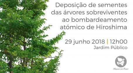 Évora Recebe Mensagem de Paz de Hiroshima