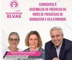 Apresentação da lista dos candidatos do Partido Socialista à Assembleia de Freguesia de Barbacena e Vila Fernando