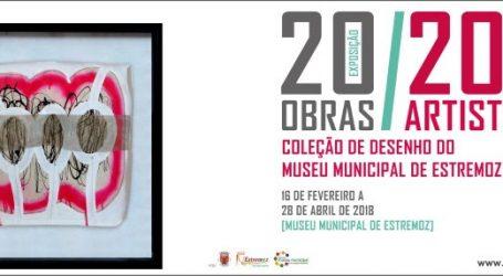 """EXPOSIÇÃO """"20 OBRAS / 20 ARTISTAS DA COLEÇÃO DE DESENHO DO MUSEU MUNICIPAL DE ESTREMOZ"""""""