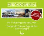 Mercado Mensal de Portalegre, no Parque de Feiras e Exposições