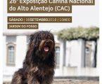 26ª. EXPOSIÇÃO CANINA NACIONAL DO ALTO ALENTEJO ARRONCHES