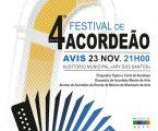 """Avis : Auditório Municipal """"Ary dos Santos"""" recebe o 4.º Festival de Acordeão"""
