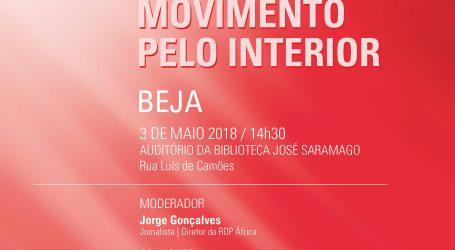 Beja acolhe amanhã na Biblioteca 5ª Conferência organizada pelo Movimento pelo Interior