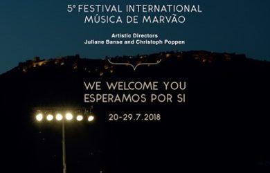 Turismo do Alentejo e Ribatejo apresenta a 5ª Edição do Festival Internacional de Música de Marvão