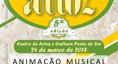 5.ª EDIÇÃO DA FESTA DO ARROZ