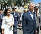 Portalegre: Visita do Presidente da República às Ativ. Militares.