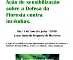 ARRONCHES: AÇÕES DE SENSIBILIZAÇÃO – DEFESA DA FLORESTA CONTRA INCÊNDIOS