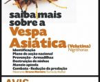 Avis: Ação de Sensibilização sobre a Vespa Asiática