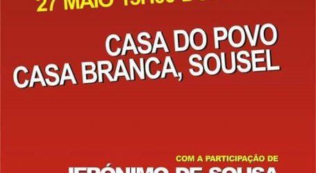 Almoço Regional do PCP, Participa Jerónimo de Sousa