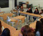 Alunos do secundário conheceram Laboratório de Arqueologia da Universidade