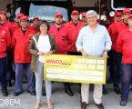 Bricomarché entregou Cheque Solidário aos Bombeiros de Portalegre