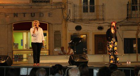 Bianca animou as Noites de Verão na Praça da República