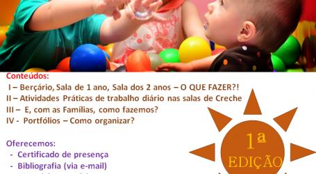 """Elvas: Biblioteca recebe formação """"Estou em creche, e agora?"""""""