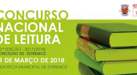 CONCURSO NACIONAL DE LEITURA EM ESTREMOZ