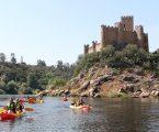 Colaboradores do Intermarché de Portalegre descem Rio Tejo em Kayak