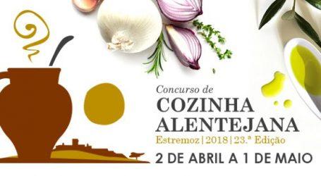 Estremoz: Participantes e ementas do Concurso de Cozinha Alentejana 2018