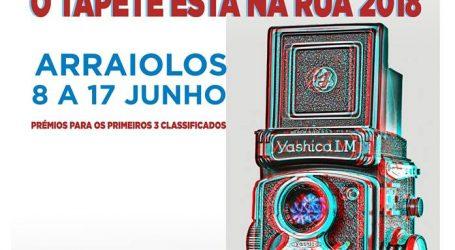 """Concurso de Fotografia – """"O Tapete Está na Rua 2018"""""""