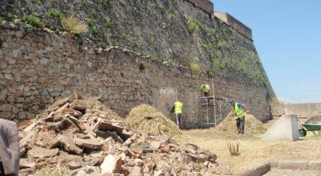 Elvas: Conservação e restauro do Baluarte de São Vicente em curso