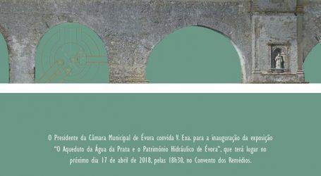 """Convento dos Remédios recebe exposição """"O Aqueduto da Água da Prata e o Património Hidráulico de Évora"""