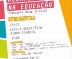 Beja: Conversas sobre educação com o tema SÉC. XXI: DESAFIOS NA EDUCAÇÃO
