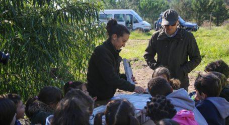 Crianças comemoram Dia da Floresta na Mata de Valverde