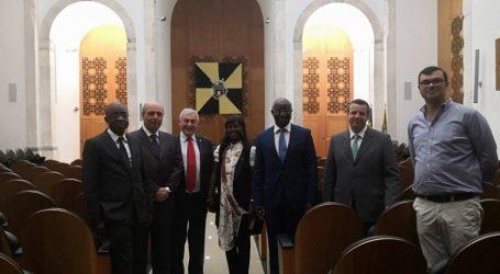 Embaixador da Guiné Bissau visita Câmara Municipal de Portalegre