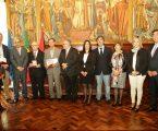 Beja: Entrega de medalhas de mérito municipal.