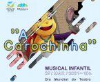 Câmara de Alcácer do Sal assinala Dia Mundial do Teatro com musical infantil online