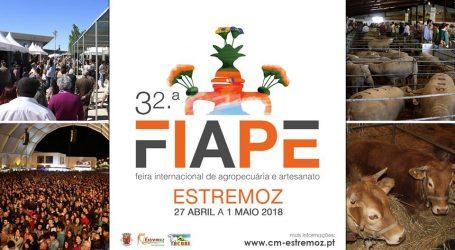 A 32.ª edição da Feira Internacional de Agropecuária de Estremoz (FIAPE)