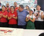 Fernando Mendes participou no 22º aniversário do Intermarché de Alcácer do Sal