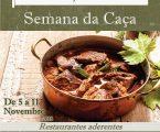 """Festival Gastronómico """"Vila Viçosa à Mesa""""  Semana da Caça"""