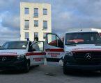 Bombeiros de Elvas recebem de prenda de natal duas viaturas novas
