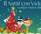 Campo Maior – II Natal Con'Vida que voltará a trazer até ao Jardim Municipal toda a magia do Natal