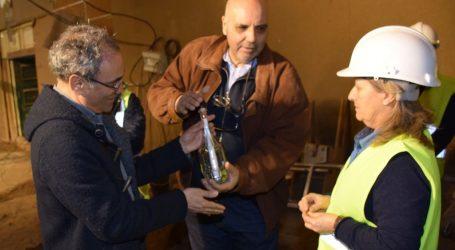 Intervenção no Antigo Salão Central Eborense prossegue com mensagem para o futuro