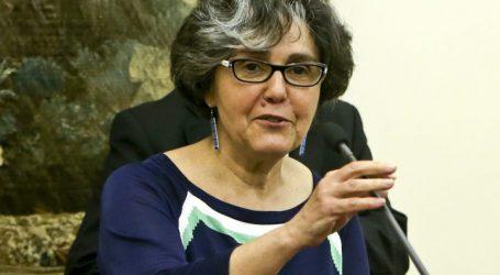 Arronches – Portalegre – A cabeça de lista da CDU, a ecologista Manuela Cunha, em visita a Arronches