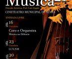 Mês da Música 2021 com três concertos entrada livres no cine teatro de Elvas