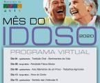 """Município de Avis comemora """"Mês do Idoso"""" com Programa Virtual"""