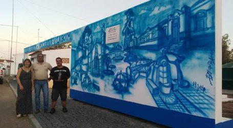 Mural em Vila Boim