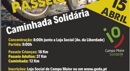 Campo Maior:  Passeio de BTT e uma Caminhada Solidária