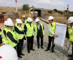 Pedro Marques visitou obra no troço ferroviário Elvas – Caia
