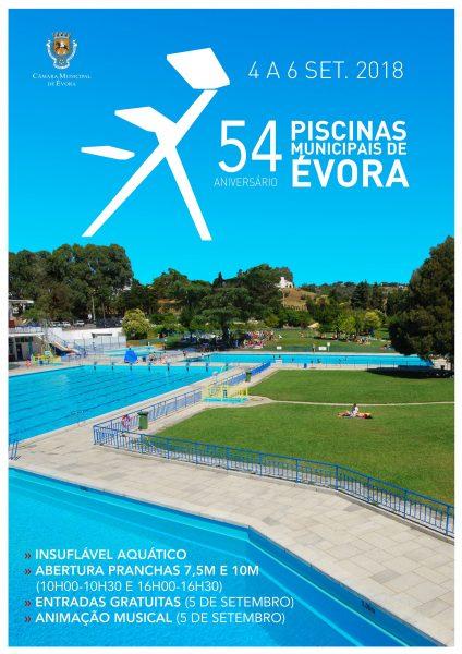 Vora piscinas municipais celebram 54 anos tudobem alentejo for Piscina elvas
