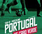 Ponte de Sor recebe Portugal vs Cabo Verde Sub-19