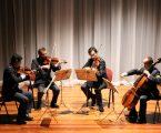 Quarteto de Cordas em concerto no Auditório São Mateus