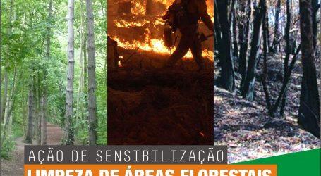 Regimento de Infantaria 1 (Beja) promove ação de sensibilização para a limpeza de áreas florestais e prevenção de fogos rurais