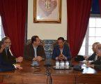 Reunião entre os municípios de Vila Viçosa e de Macael (Espanha)