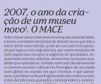 Elvas: MACE em destaque na última edição da Umbigo Magazine