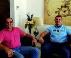 Ricardo Pinheiro, que deu as boas vindas ao Sargento-Ajudante Hugo Tavares