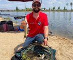 Moura: Stefano da Piedade em 5.o lugar no Campeonato Nacional de Pesca à Bóia